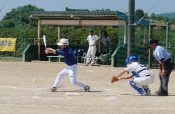 P92300433回裏きよた1死二、三塁から野口の投ゴロで三走生還、ボールが一塁へ送球されるのを見て二走も判断よく生還