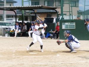 PA0600345番左前打、二ゴロ、四球、盗塁1