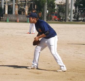 DSCF3090きよた一塁手