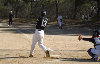 DSCF38142回表毛利1死二塁から毛利の右前打で先制