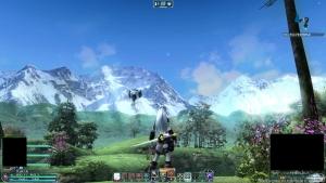 新PC遠景、山