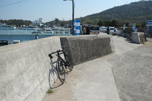 豊島港チャリ