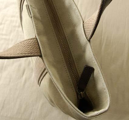 羽倉の6号帆布トートバッグ その3