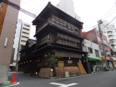 谷中古建築
