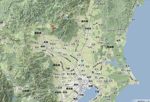 関東地形図