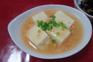 豆腐のたらこあん114