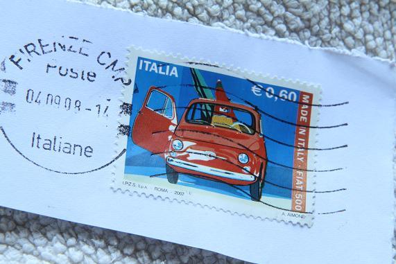 cinque francobollo