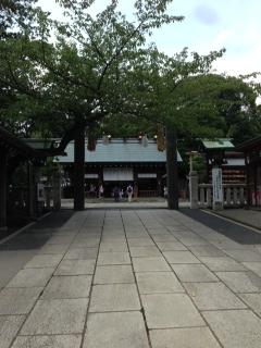 伊勢山皇大神宮の拝殿