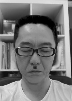 神戸・三宮店舗~玄関看板ペイント~そして角刈り~そしてちょび髭~
