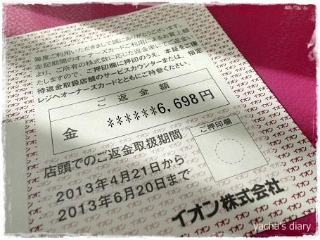 20130419イオン株主優待