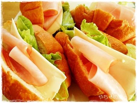 20131105明治クリームチーズとクロワッサン
