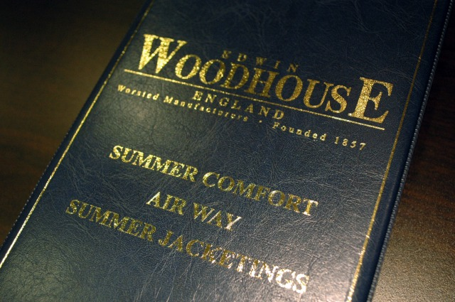オーダースーツ名古屋 EDWIN WOODHOUSE エドウィンウッドハウス