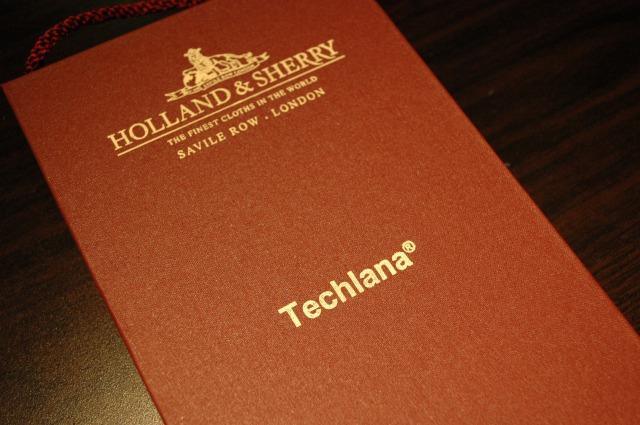 HOLLAND&SHERRY ホーランド&シェリー オーダースーツ名古屋