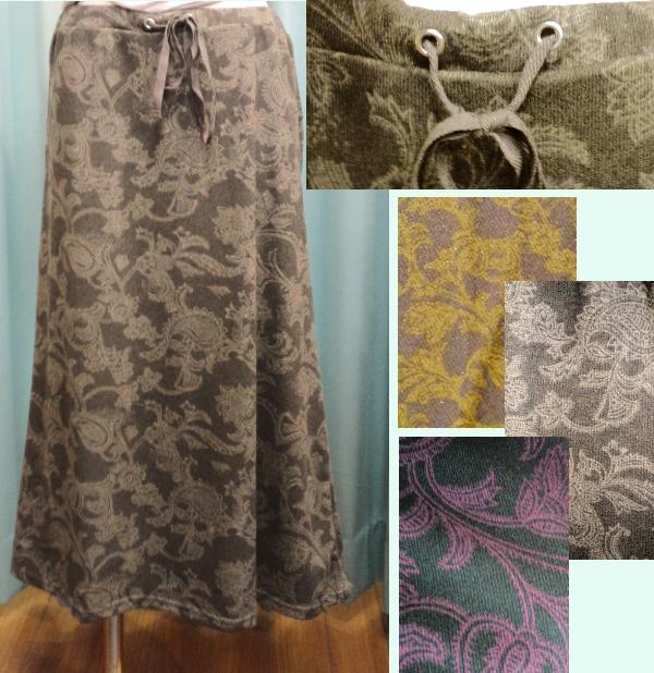 shanti2 チンツ スカート ¥3990