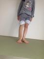 お姉ちゃんライナー装着(5歳4ヵ月)