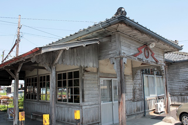 ⑤新村旧駅舎