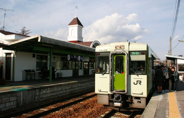 ⑩野辺山駅