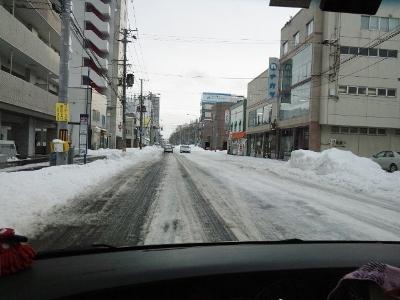 12月17日の札幌道路状況 (400x300)