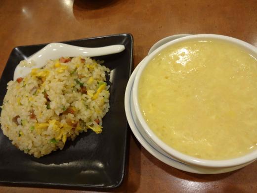 炒飯&スープ