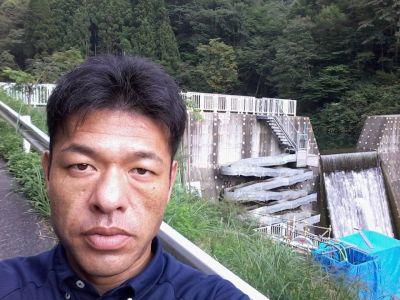 岐阜県揖斐川町 山の谷の魚道と谷口和樹