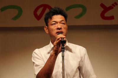 谷口さんの話している顔アップ写真