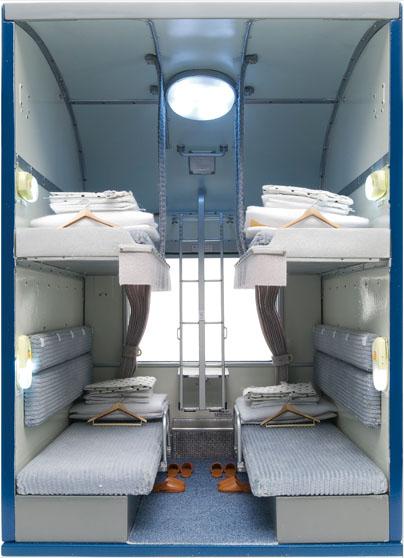 内装模型 24系寝台客車 オハネ24 49