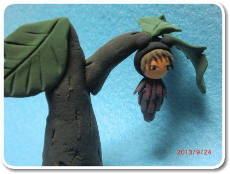 きもてる蓑虫1