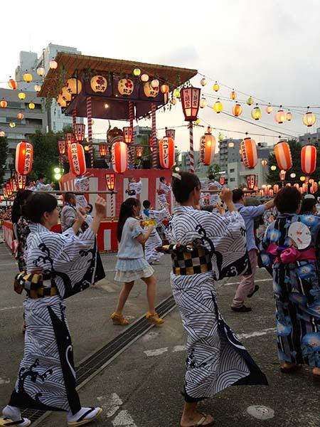 築地本願寺盆踊り2