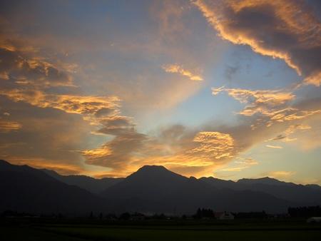 梅雨明けの夕焼けk070801ks014