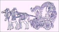 ヨーガ馬車の絵