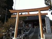 御嶽神社境内