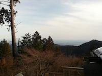 御嶽神社山頂より