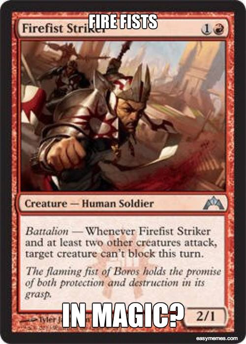 Brotherhood of the Fire Fist - Human