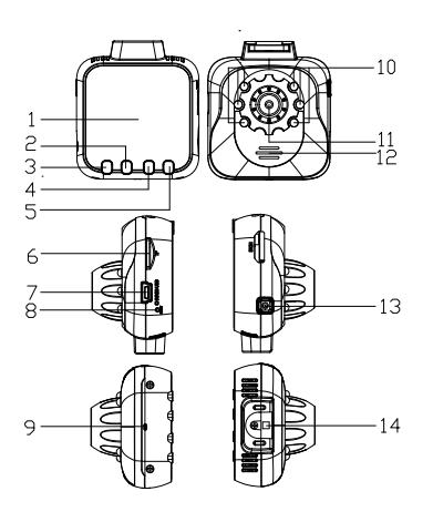 ドライブレコーダーr800
