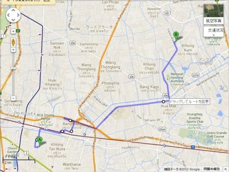 Map Nawamin