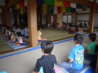 子供坐禅会1308032