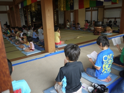 子供坐禅会130803