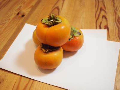 柿のお供え1310142