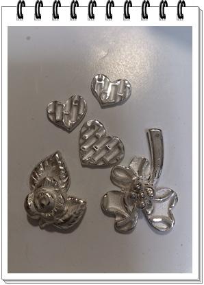 銀粘土 パーツ