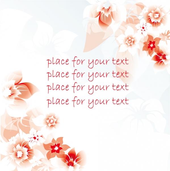 薄い花弁の色が重なる背景 Pink background pattern1