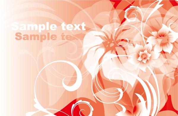 薄い花弁の色が重なる背景 Pink background pattern2
