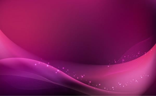 優雅な曲線に光があたる背景 Abstract Purple Pink Background