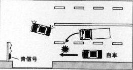 割り込み事故の概要図