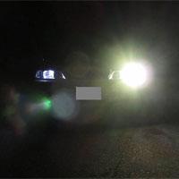 片目のヘッドライト