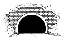 ブラックホール現象の見本図