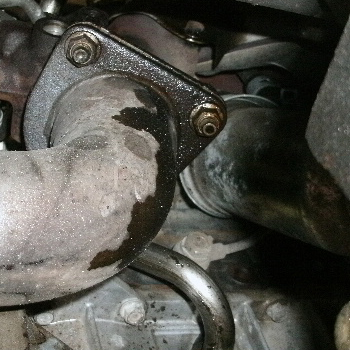 エンジンオイル漏れ2