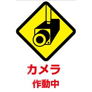 カメラ作動