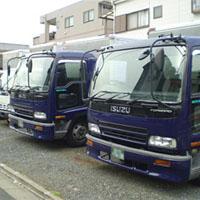 傭車のトラック