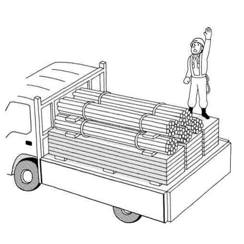 トラック作業事例