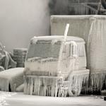 冬のトラック